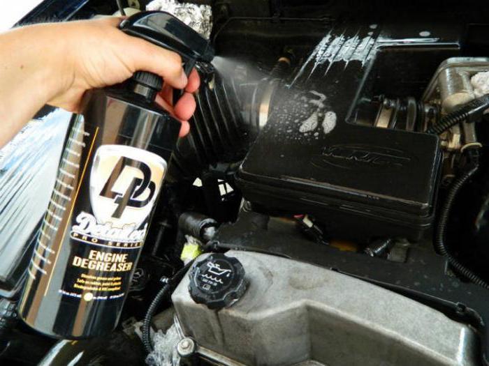 лучшее средство для мытья двигателя автомобиля